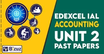 Edexcel IAL Accounting Unit 2 Past Papers