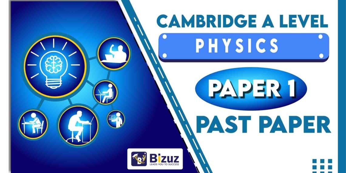A Level Physics Past Papers 9702 Paper 1