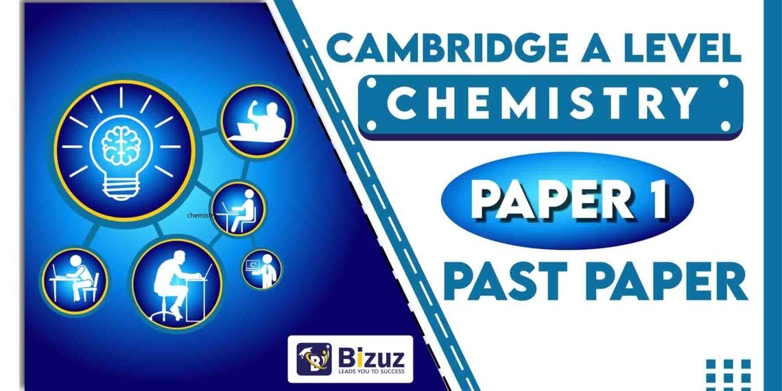 Chemistry A Level Past Papers