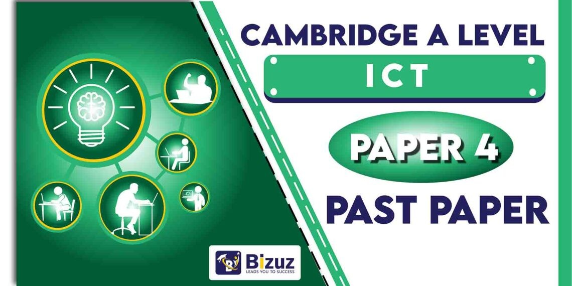 A Level ICT Past Papers