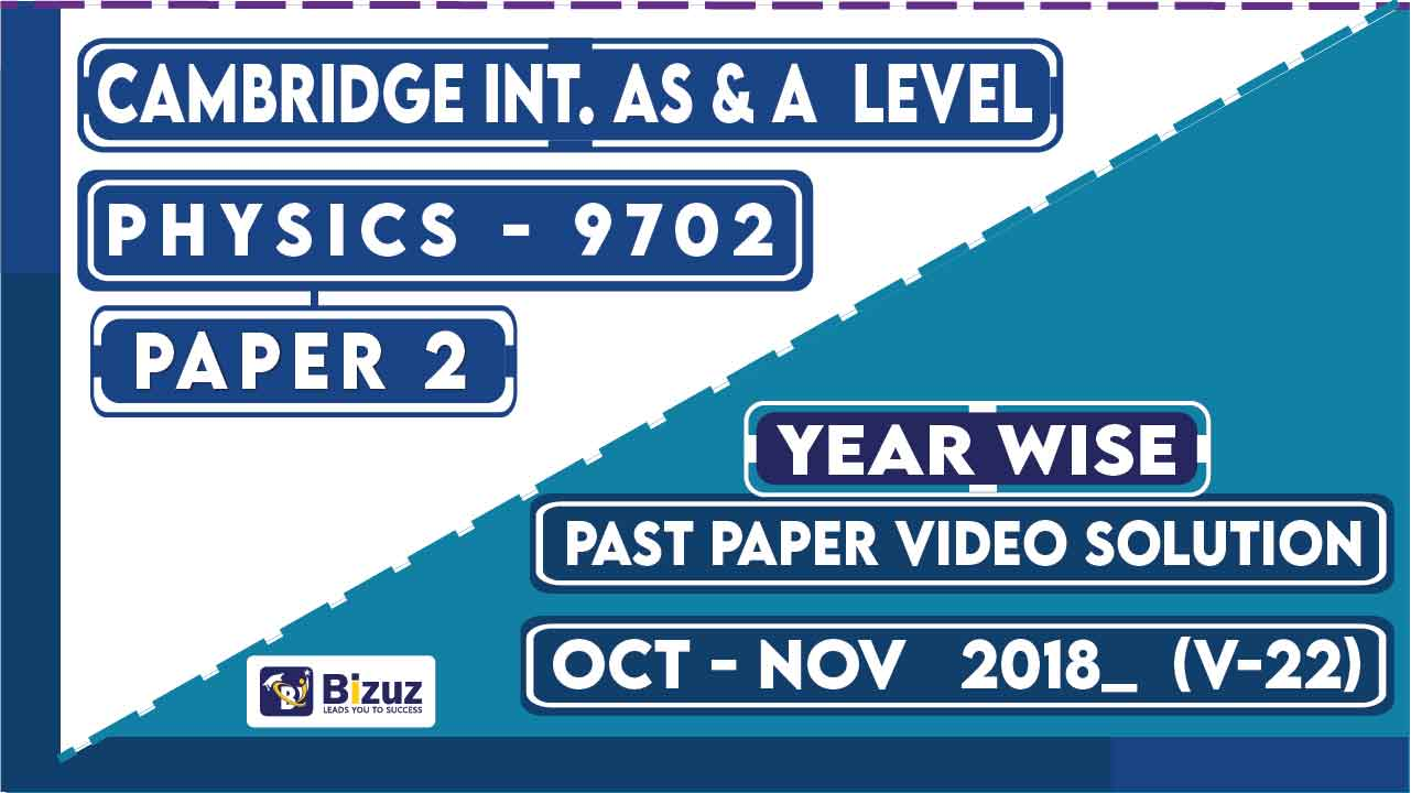 Physics past papers 2018